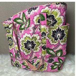 Vera Bradley Percilla Pink Tote Bag